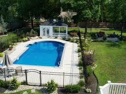 Landscaping Around Pool Fence Great Home Decor Creative Decorative Landscaping Around Pool Ideas