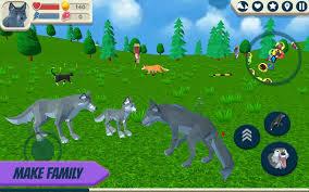 Wolf Simulator: Wild Animals 3D for ...