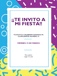 Te Invito A Mi Fiesta Viernes 15 De Marzo