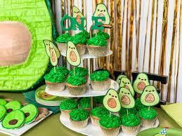 Avocado Theme First Birthday Party Ideas Stylish Pharmacist