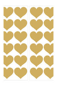 Brewster Home Fashions Gold Heart Wall Decals Nordstrom Rack