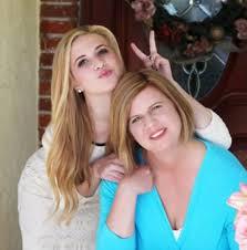 Caroline Sunshine with mother Karen Sunshine   Celebrities ...