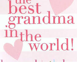 happy birthday grandma poems es