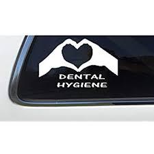 Registered Dental Hygienist 6 As452 Car Sticker Thatlilcabin I Am A Rdh