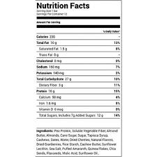 almond cherry protein bar 1 94 oz bars