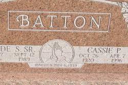 Cassie Priscilla Stewart Batton (1920-1996) - Find A Grave Memorial