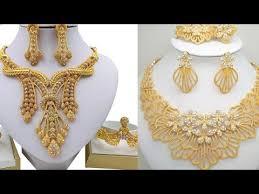 dubai gold jewellery designs photos
