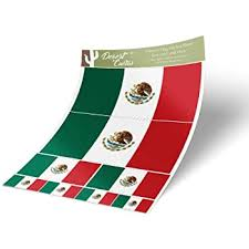 Amazon Com Mexican Mexico Flag Car Magnet Decal 4 X 6 Heavy Duty For Car Truck Suv Automotive