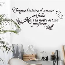 Quotes French Style Wall Stickers Personality Wall Decals Living Room Bedroom Sofa Background Wall Decor Room Decoration B172 Wall Stickers Aliexpress