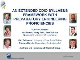 PPT - AN EXTENDED CDIO SYLLABUS FRAMEWORK WITH PREPARATORY ENGINEERING  PROFICIENCIES PowerPoint Presentation - ID:2593870