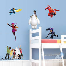Big Hero 6 Baymax Wall Sticker Pvc Wall Decor For Kids Room Decals For Sale Online Ebay