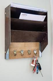 mail and key holder wall mail organizer