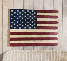 American Flag Wall Art By Outdoor Decor 105 00 A Special Addition To Your Wall Red White And Blue 40 L X American Flag Wall Art Americana Decor Wall Art