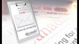 Visa De Turista A Canada Con Carta De Invitacion Youtube