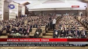 Anayasa Mahkemesi Başkanı Zühtü Arslan nın Konuşması 05.10.2016 - YouTube