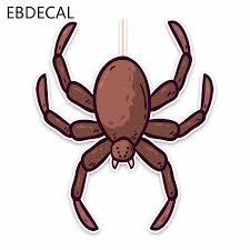 Ebdecal Black Widow Spider Car Bumper Window Wall Suitcase Decal Sticker Decals Diy Decor Ct8440 Car Stickers Aliexpress