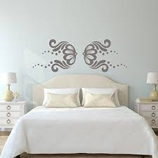 Elegant Pink Flower Pattern Vinyl Vinyl Decor Wall Decal Customvinyldecor Com