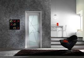 interior doors made from glass modern