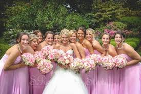 bridal party hair and makeup gallery