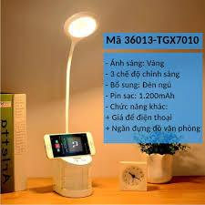 Đèn bàn sạc điện ánh sáng Vàng chống cận có giá để điện thoại -Rẻ ...