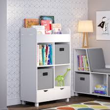 Shop Riverridge Kids Cubby Storage Cabinet With Bookrack With Optional Bins Overstock 24204575