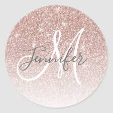 Glitter Name Stickers 100 Satisfaction Guaranteed Zazzle