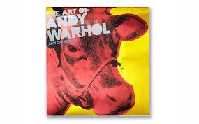 the art of andy warhol calendar