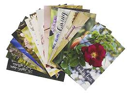 bible verse christian inspirational quotes postcards glossy