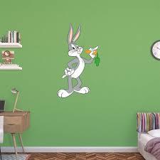 Fathead Looney Tunes Bugs Bunny Wall Decal Walmart Com Walmart Com