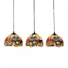 3 lights parrot design suspended light