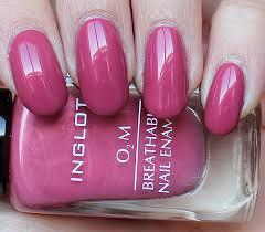 inglot o2m breathable nail enamel 682