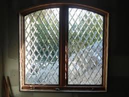 all beveled tudor style diamonds window