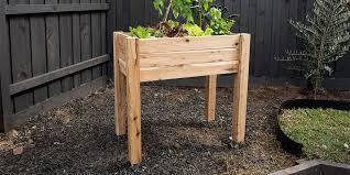 how make a portable garden bed