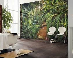 giant wall mural photo wallpaper jungle