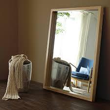 mirror dressing mirror bedroom wall