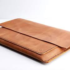 capra leather macbook pro case for men