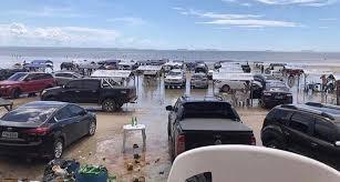 Praias na Região Metropolitana de São Luís ficam lotadas em plena ...
