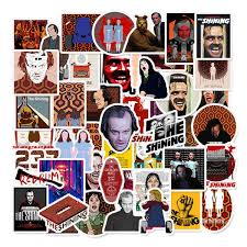 Laptops Sticker The Shining Stickers For Water Bottles 50 Pcs Tv Show Waterproof Vinyl Decal Sticker For Phone Computer Hydro Flasks Cars Bicycles Mac Book Ski Ps4 Xbox One The Shining Amazon In Home Kitchen
