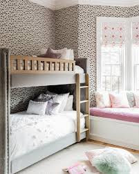Kids Room Bay Window With Pink Window Seat Contemporary Girl S Room