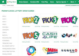 pa lottery pick 3 and pick 4 how to
