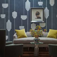 contemporary wallpaper patterned