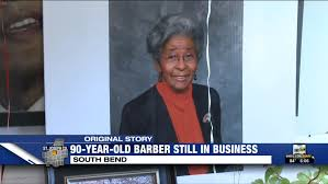 90-year-old South Bend barber shop owner shares why she's still working