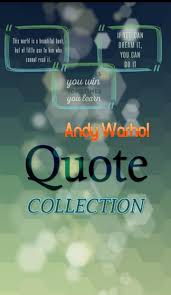 andy warhol quotes collection for android apk