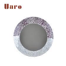 diy handmade glass mosaic mirror frame