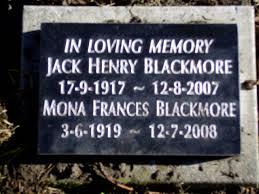 jack henry blackmore 1917 2007