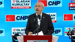 Son dakika: CHP Kurultayı'nda konuşan Kılıçdaroğlu: İlk seçimde ...