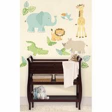 Safari Buddies Kit Jungle Wall Decals