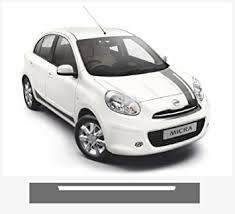 Amazon Com Nissan Micra Nismo Motorsport Windscreen Decal Stripe Silver Automotive