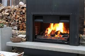outdoor fireplace gas wood open outdoor