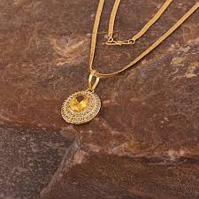 designer rhodium gold plated synthetic